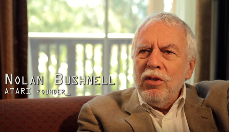 Easy to Learn Hard to Master Nolan Bushnell